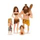 Caveman Family Design Concept