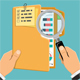 Auditing Tax Process Accounting Concept - GraphicRiver Item for Sale