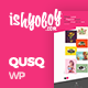 Qusq Pro - Flat Colorful Portfolio - ThemeForest Item for Sale