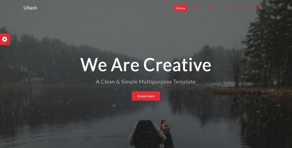 Ullash-Responsive Creative Template