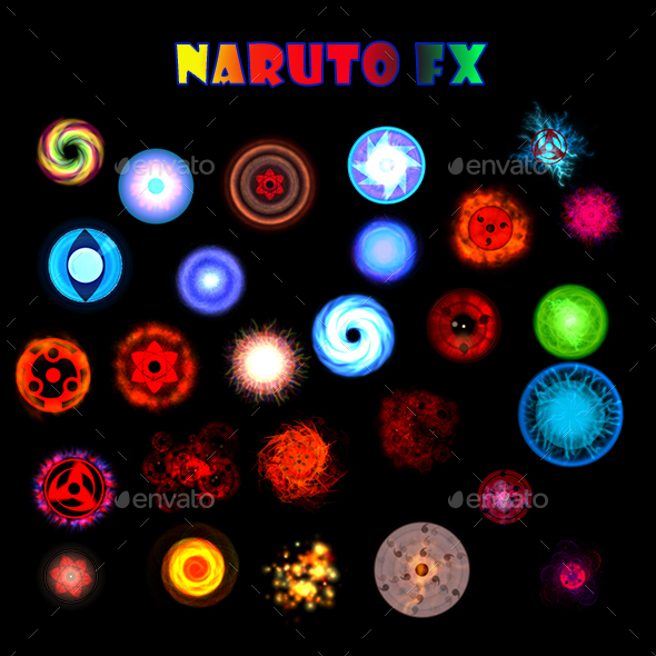 Naruto FX - Sprites Game Assets