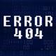 4K Glitch Digital Code - Error 404 - VideoHive Item for Sale