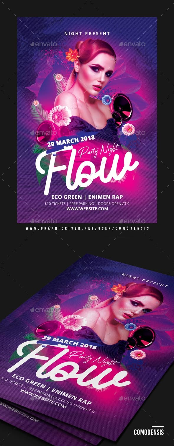 Dj Flyer Party - Clubs & Parties Events