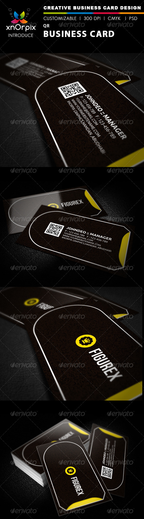 QR Business Card - Corporate Business Cards