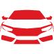 Automobile Car Line Logo