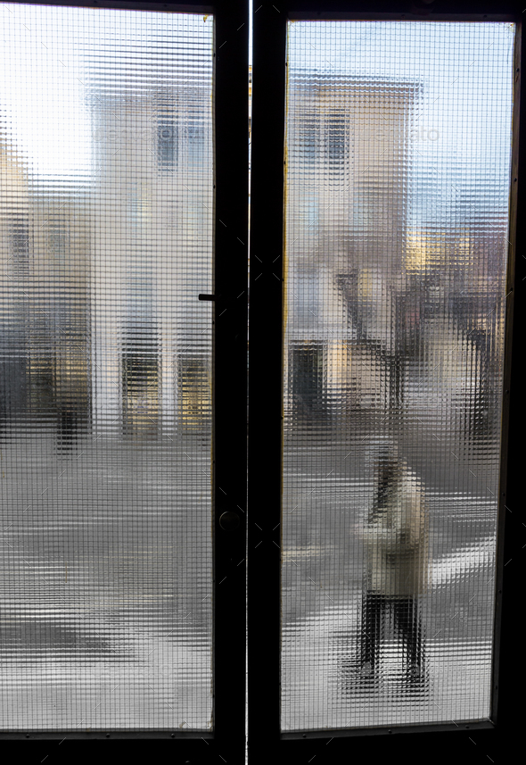 Looking out the window - Stock Photo - Images