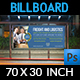 Freight and Logistic Services Billboard Template - GraphicRiver Item for Sale