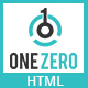 OneZero - One Page Multipurpose HTML5 Template - ThemeForest Item for Sale
