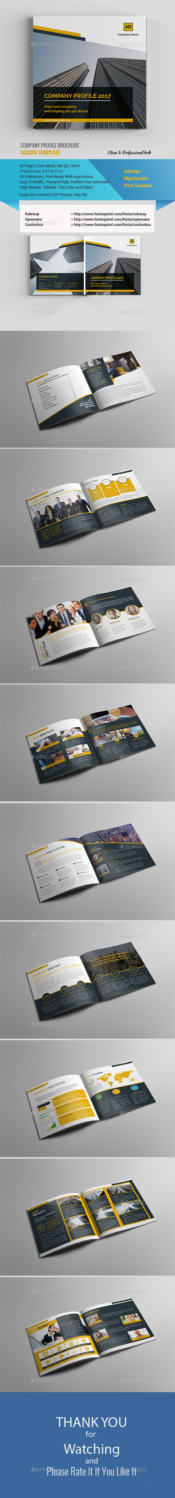 Square Company Profile Vol 1 - Corporate Brochures