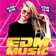 EDM Electro House Music Party Flyer - GraphicRiver Item for Sale