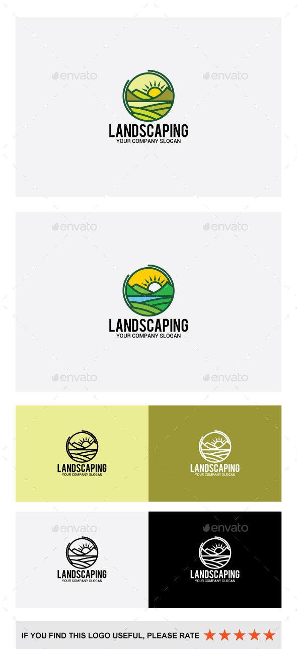 Landscaping Logo - Abstract Logo Templates