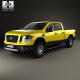Nissan Titan Crew Cab XD Pro 4X with HQ interior 2016