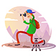 Guy with Camera Taking Pictures - GraphicRiver Item for Sale