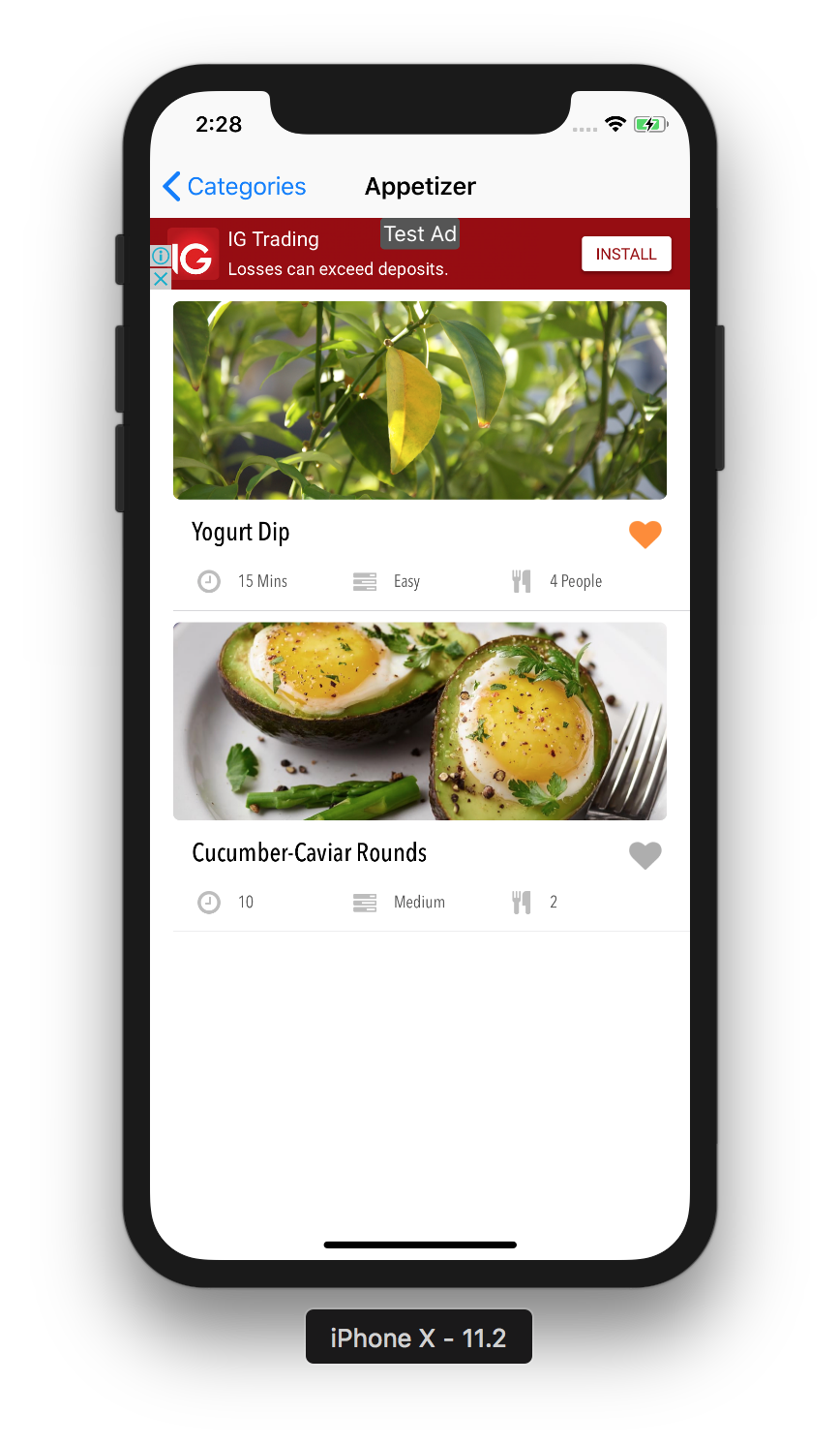Flavr ios recipe app universal template by kalaichelvan codecanyon flavr ios recipe app universal template forumfinder Image collections