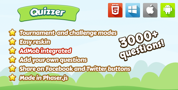 Quizzer - CodeCanyon Item for Sale