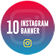 Instagram Restaurant Banner - GraphicRiver Item for Sale