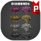 Diamonds - GraphicRiver Item for Sale
