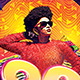80s Party Flyer - GraphicRiver Item for Sale