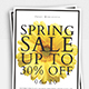Spring Sale Flyer - GraphicRiver Item for Sale