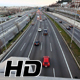 Highway Traffic Cars Driving Elevated Point of View at Multiple Lane Speedway - VideoHive Item for Sale