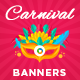 Carnival Fest Banner Set - GraphicRiver Item for Sale