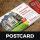Postcard Design Template v3 - GraphicRiver Item for Sale