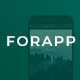 Forapp - App Landing Page Template - ThemeForest Item for Sale