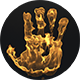 Hand Print On Fire - VideoHive Item for Sale