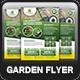 Garden Landscape Flyer Template - GraphicRiver Item for Sale