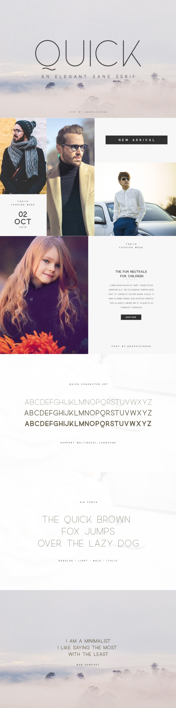 Quick - An Elegant Sans Serif - Sans-Serif Fonts