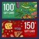 Vector Pizza Restaurant or Shop Giftcard