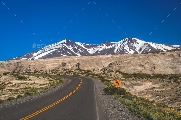 Ruta Quarenta road through Argentina - Stock Photo - Images
