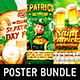 St. Patrick's Day Party Poster Bundle vol.2