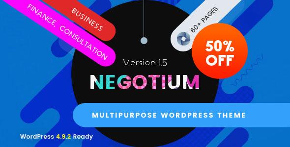 Negotium - Multipurpose Business WordPress Template - Business Corporate