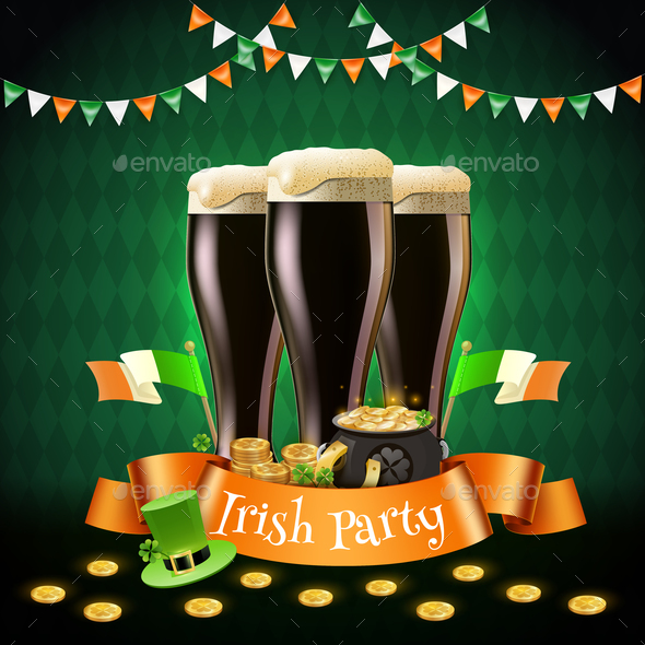 Saint Patricks Irish Party Composition - Miscellaneous Seasons/Holidays