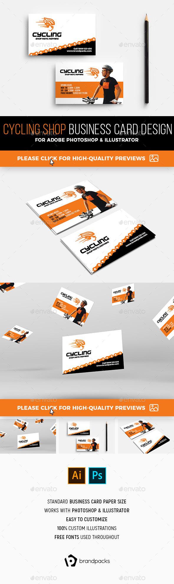 Business Card Templates Designs From GraphicRiver - Business card template designs