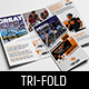 Cycling Shop Tri-Fold Brochure Template