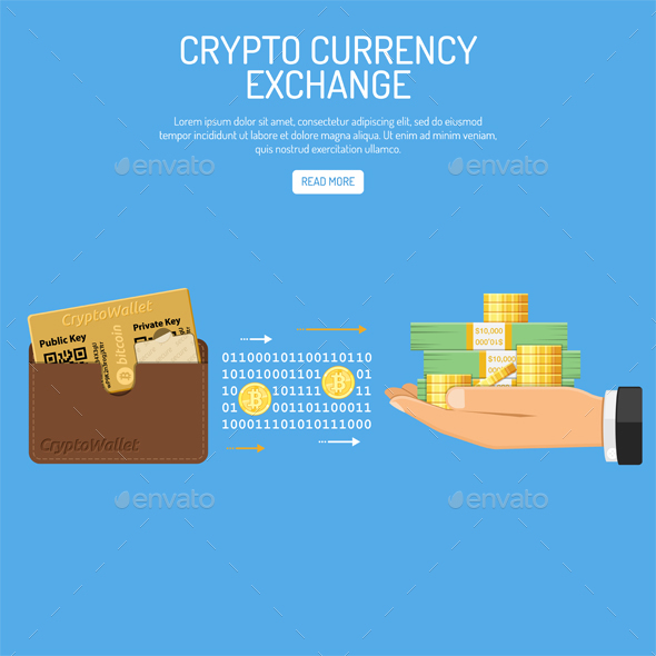 Crypto Currency Bitcoin Technology Concept - Miscellaneous Vectors
