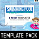 Swimming Pool Templates Pack - GraphicRiver Item for Sale
