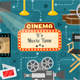 Cinema and Movie Infographics - GraphicRiver Item for Sale