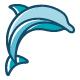 Blue Dolphin Logo - GraphicRiver Item for Sale