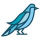 Blue Bird Logo - GraphicRiver Item for Sale