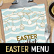 Easter Menu Vol.2 - GraphicRiver Item for Sale