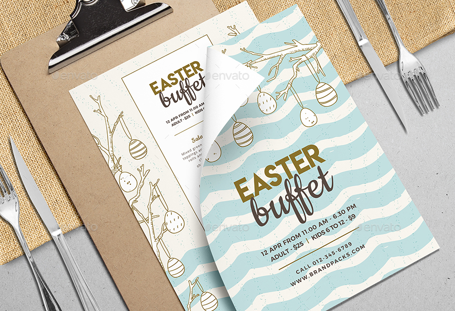 easter menu vol 2 by brandpacks graphicriver