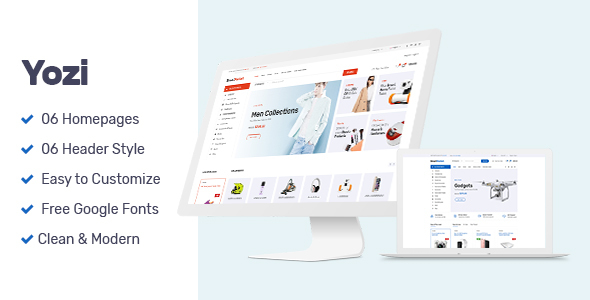 Image of Yozi - Multipurpose Electronics WooCommerce WordPress Theme
