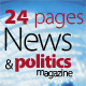 24 Pages News & Politics Magazine Version One - GraphicRiver Item for Sale
