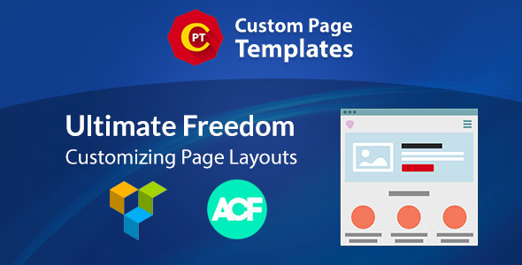 Custom Page Templates: New Way of Creating Custom Templates in WordPress - CodeCanyon Item for Sale