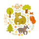 Animals Vector Set - GraphicRiver Item for Sale