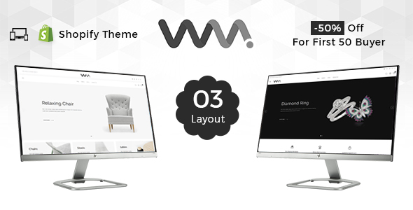 WooMart - Sectioned Multipurpose Shopify Theme