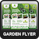 Garden Landscape Flyer Template - GraphicRiver Item for Sale